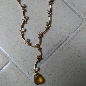 Avon Extraordinary Briolette Vine Necklace
